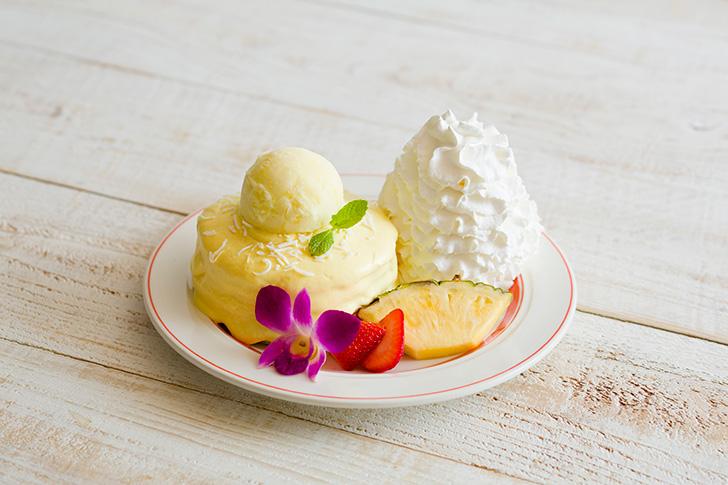 パインココ・パンケーキ エッグスンシングス 夏の新メニュー