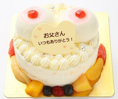 父の日 おっぱいケーキ