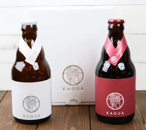 馨和 KAGUAのギフト「ビール2本セット」