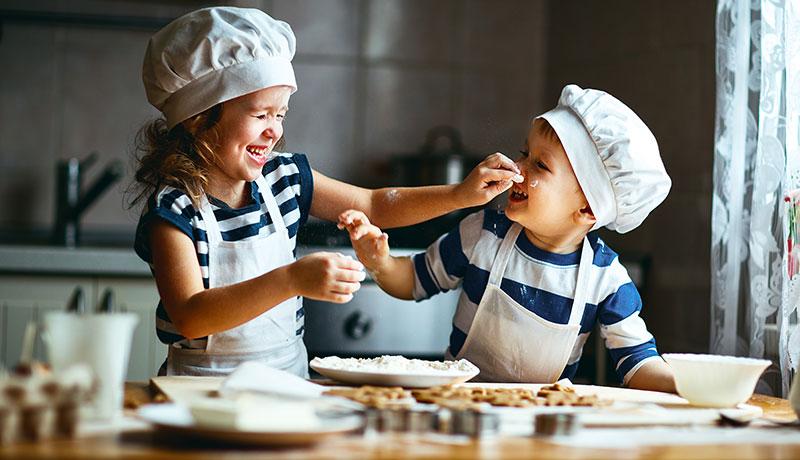 子供たちの手料理で父の日をお祝いする!