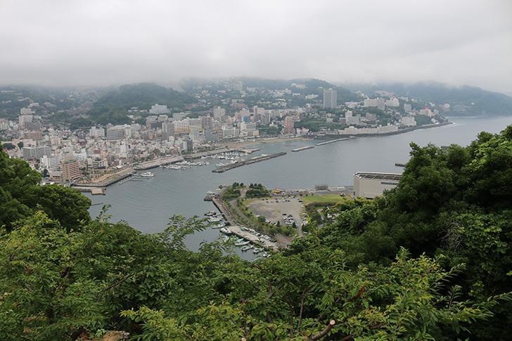 熱海城前から見える景色