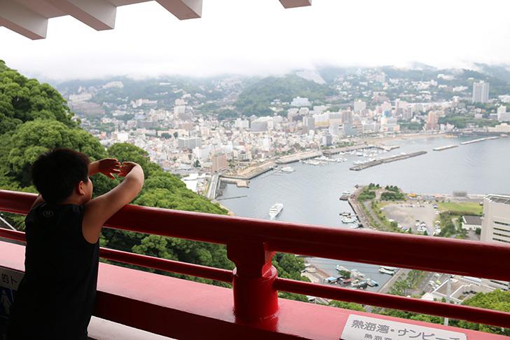熱海城 展望台 風景