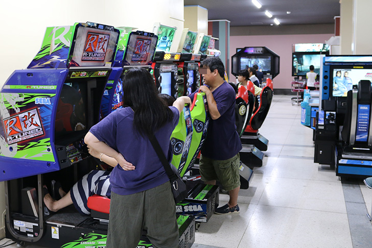 熱海城 無料ゲームコーナー