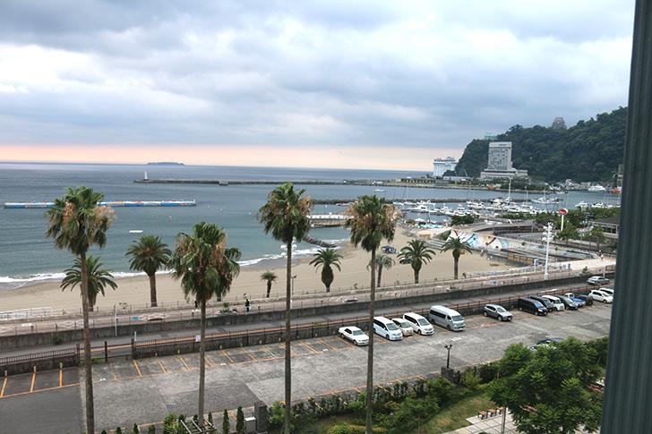 熱海サンビーチ前の眺望最高ホテルミクラス
