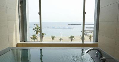 エグゼクティブルーム/海を眺めるビューバス付きプラン 熱海 ホテルミクラス