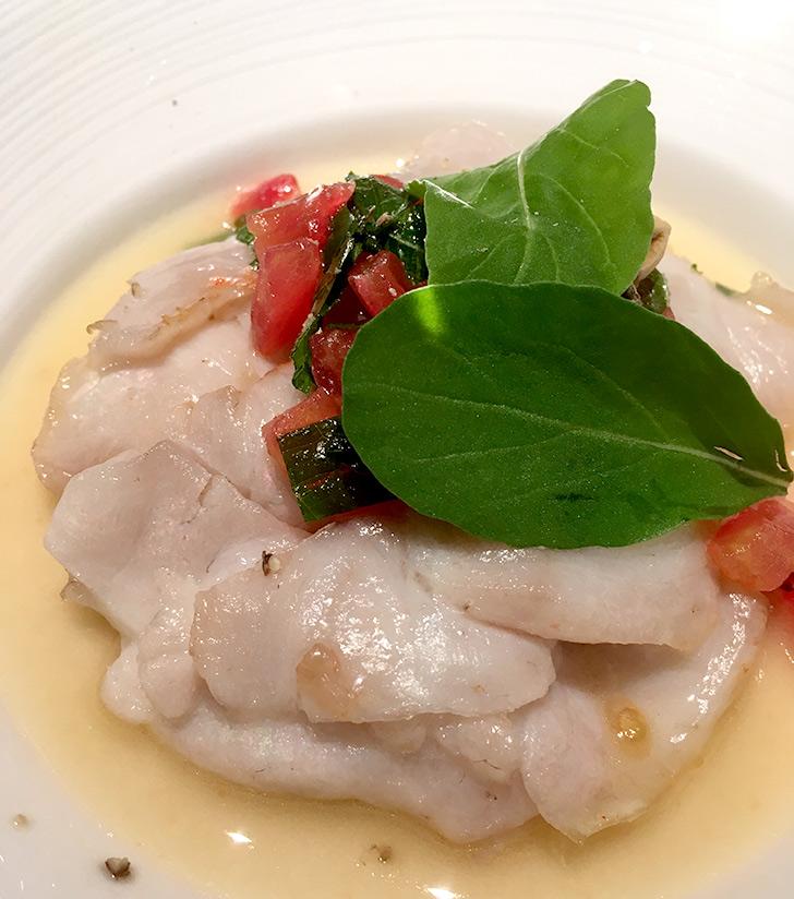 ホテルミクラス カジュアルディナー 魚料理
