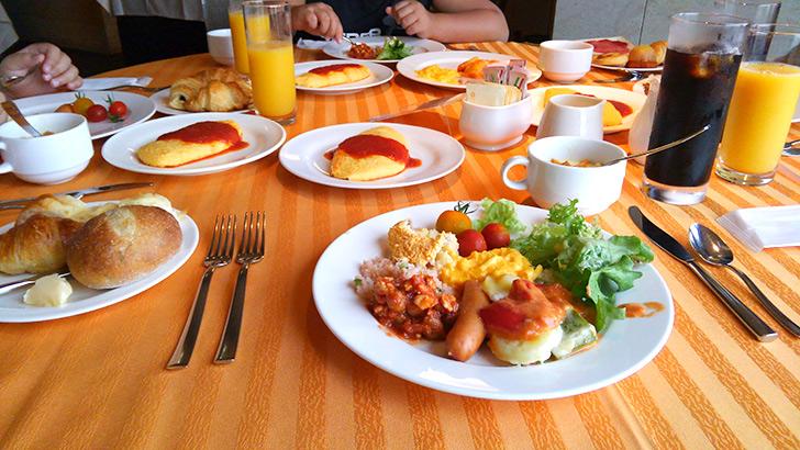 ホテルミクラスの朝食