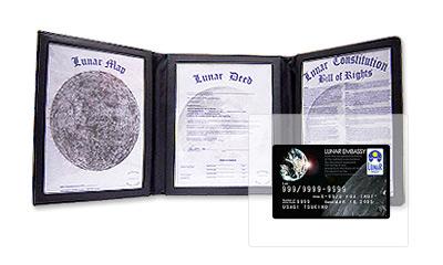 月の土地 カード付ファイルセット