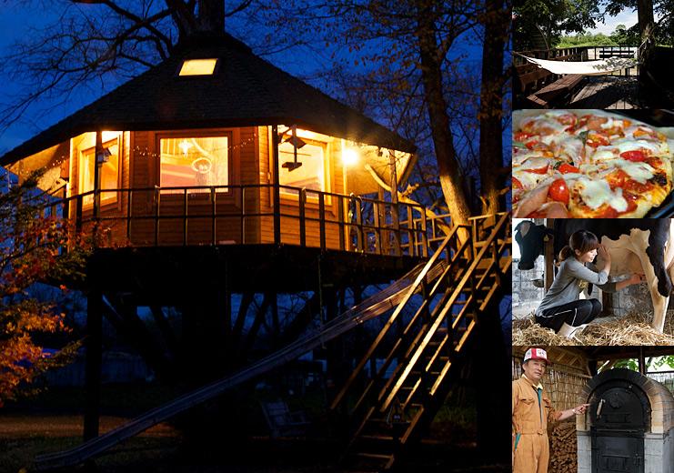 三部牧場<北海道> 泊まれるツリーハウス