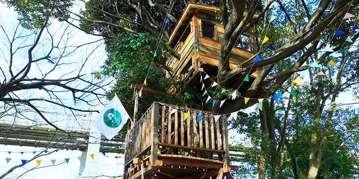 椿森コムナ ツリーハウスのカフェ