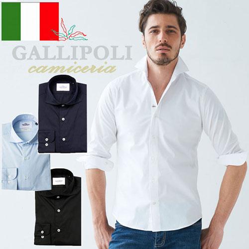 [LEON掲載]GALLIPOLI camiceria(ガリポリカミチェリア) イタリア製