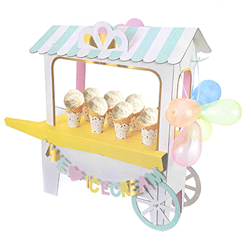 【MeriMeri】アイスクリームカート センターピース