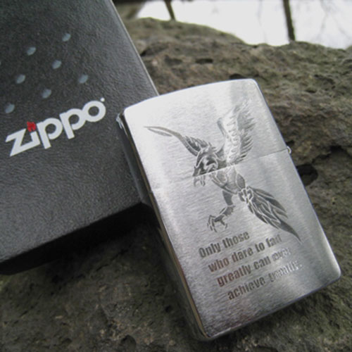 名入れZippo(ジッポ)ライター No,200【刻印オーダーメイド】