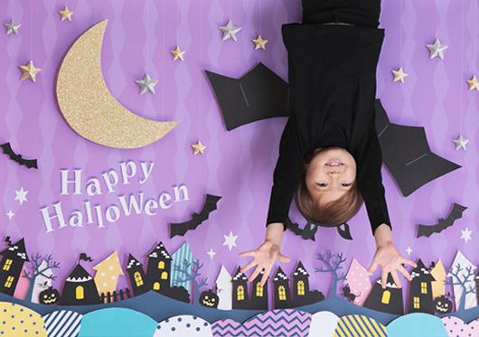 【iesta】Halloween 逆さコウモリ