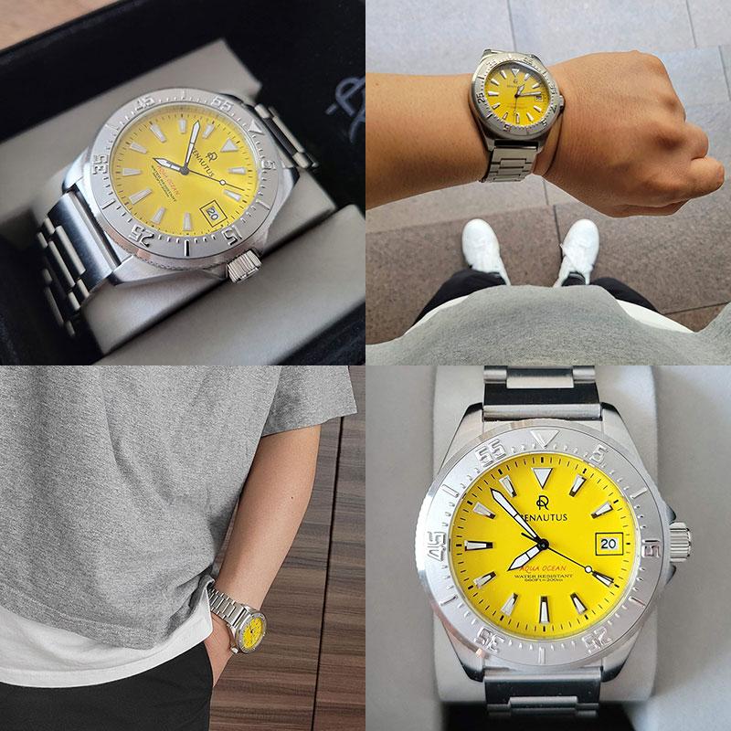 ルノータス腕時計 カスタムオーダーイメージ レビュー・感想・評価