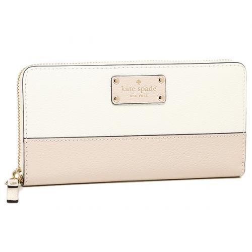 ケイトスペード バイカラー財布