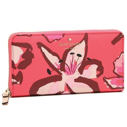 ケイトスペード 花柄財布