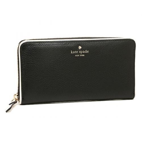 ケイトスペード ブラック財布