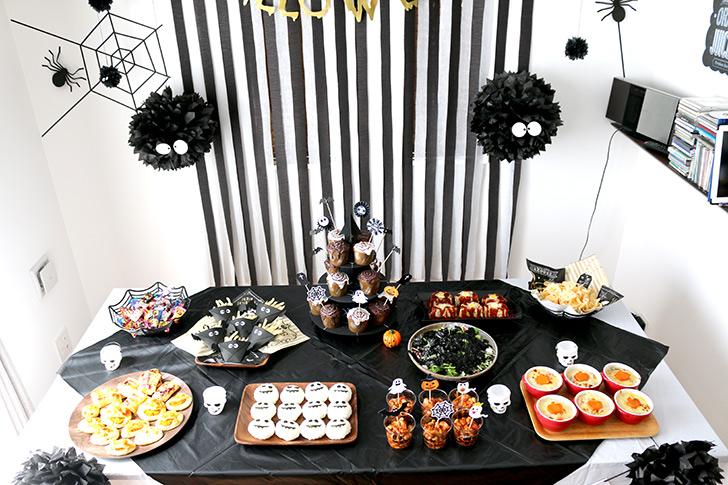 ハロウィンパーティー料理