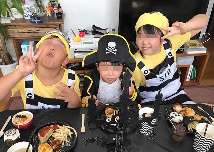 ハロウィンパーティー スナップショット 海賊とミニオンズ