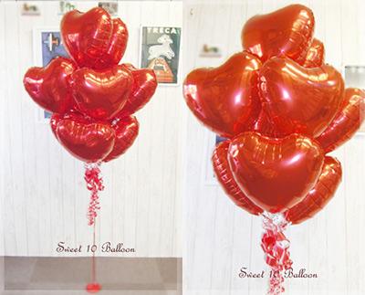 ハートバルーン sweet 10 balloon
