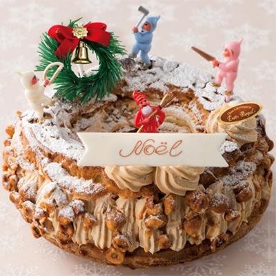 パリ・ブレスト・ノエル(エストローヤル) 大丸松坂屋のクリスマスケーキ