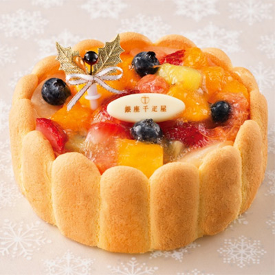 銀座フルーツシャルロット(銀座千疋屋) 大丸松坂屋のクリスマスケーキ