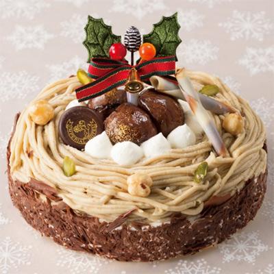 クリスマスマロン(帝国ホテル) 大丸松坂屋のクリスマスケーキ