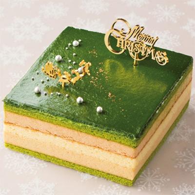 宇治抹茶のオペラ(吉祥菓寮) 大丸松坂屋のクリスマスケーキ