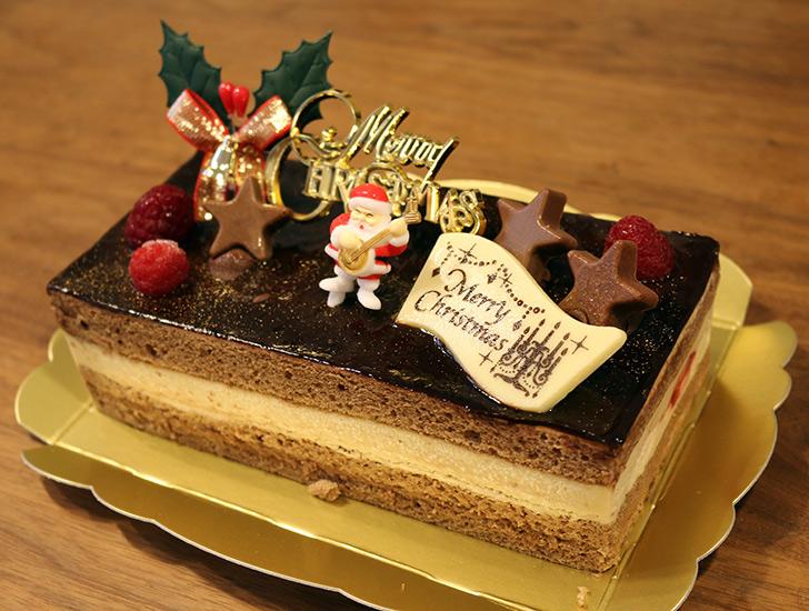 cake.jpのクリスマスケーキ バニラとチョコの極上ブッシュ・ド・ノエル