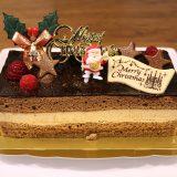 通販クリスマスケーキ「バニラとチョコの極上ブッシュ・ド・ノエル」を食べた感想