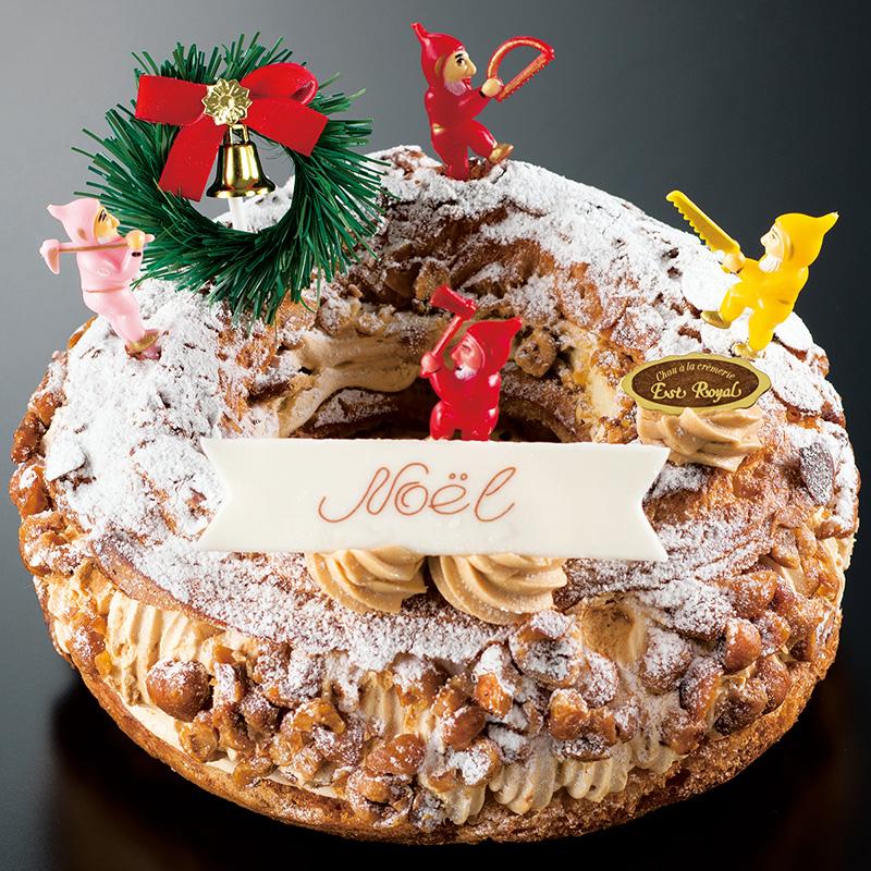 パリ・ブレスト・ノエル(エストローヤル) 大丸松坂屋 クリスマスケーキ