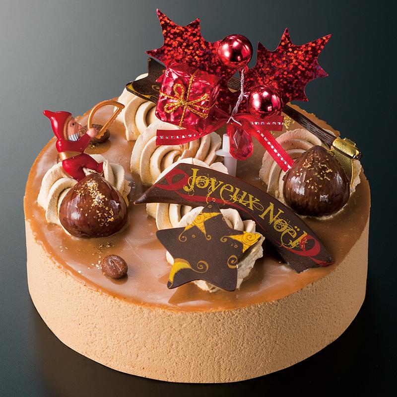 ノエル アルデッシュ モカ(ガトー・ド・ボワ) 大丸松坂屋 クリスマスケーキ