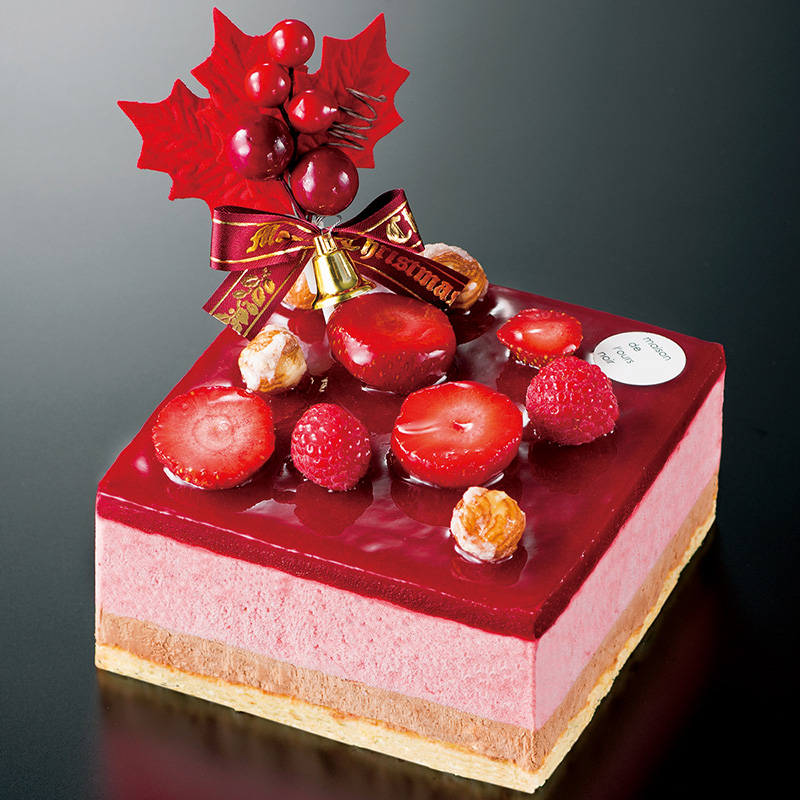 Xmas プラリネ・フレーズ(メゾンドロースノア) 大丸松坂屋 クリスマスケーキ