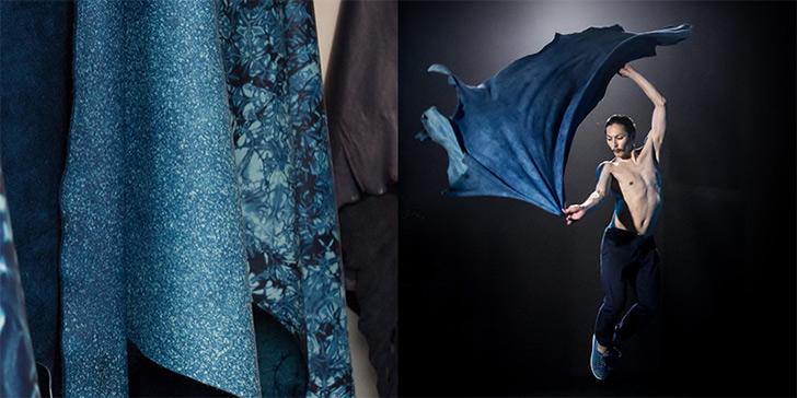 天然本藍染革「SUKUMO Leather(スクモレザー)」とは?