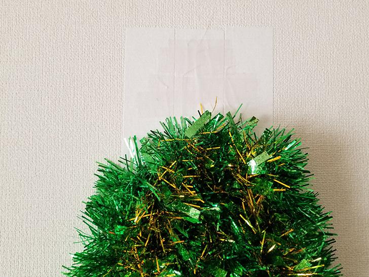 壁に吊るす クリスマスフォトブースの作り方