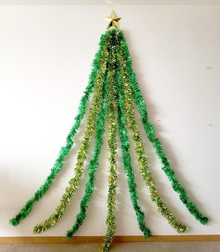 裾を広げる クリスマスフォトブースの作り方