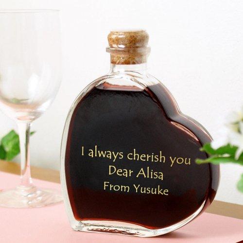 ハート型ワイン プレゼント