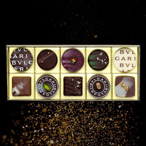 BVLGARI IL CIOCCOLATO(ブルガリ イル・チョコラート) チョコレート・ジェムズ(10個入)