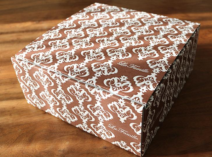 パッケージデザイン ほくほく和栗&和三盆のモンブラン ラ・ファミーユ