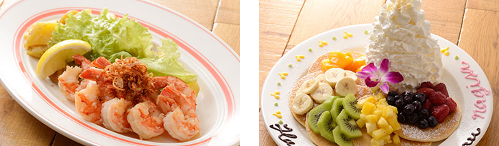 Eggs 'n Things原宿店(エッグスンシングス)の料理