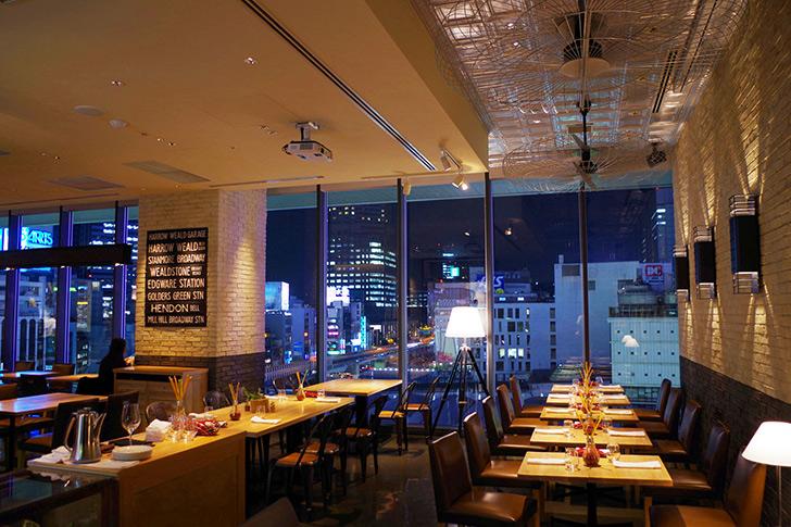 渋谷で人気のレストランディナーランキング 3位