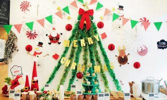 クリスマスフォトブース クリスマスランチブッフェ