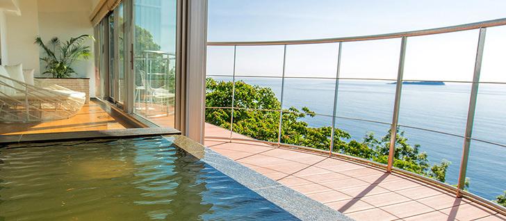 ホテル ふたり木もれ陽(伊東)客室展望風呂