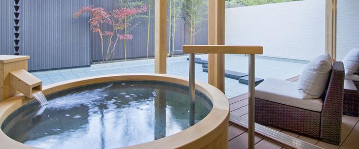 奥の院 ほてるとく川(日光)露天風呂 温泉
