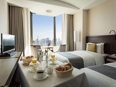 宿泊プランイメージ 30階以上のフロア確約!インルーム朝食&身の回りのお手伝いをしてくれるフロア専任アテンダント特典つき