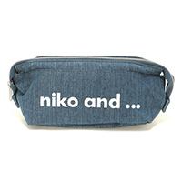 niko and ... (ニコアンド) OR ニコロゴポーチM ペンケース