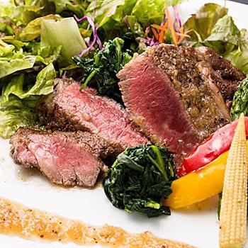 するり ランチプラン 【1ドリンク付!】熟成牛赤身肉ステーキや名物鯛めし、鮮魚やうどんのお刺身含む全8品ランチ