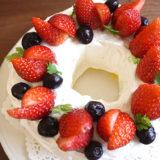 オーブンいらず時短&簡単『バースデーシフォンケーキ』の作り方