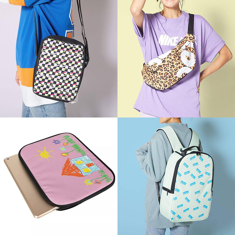 好きな画像で自分好みにデザインできるladecoのバッグ